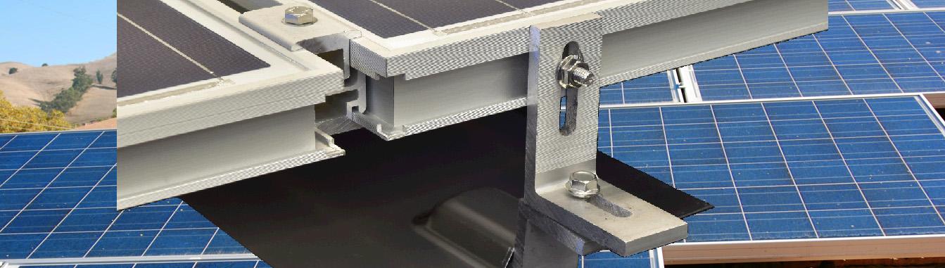 MageMount Rail-less Solar Mounting System Slider 1