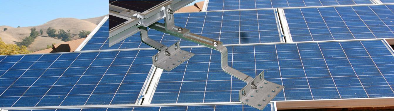 MageMount Rail-less Solar Mounting System Slider 4