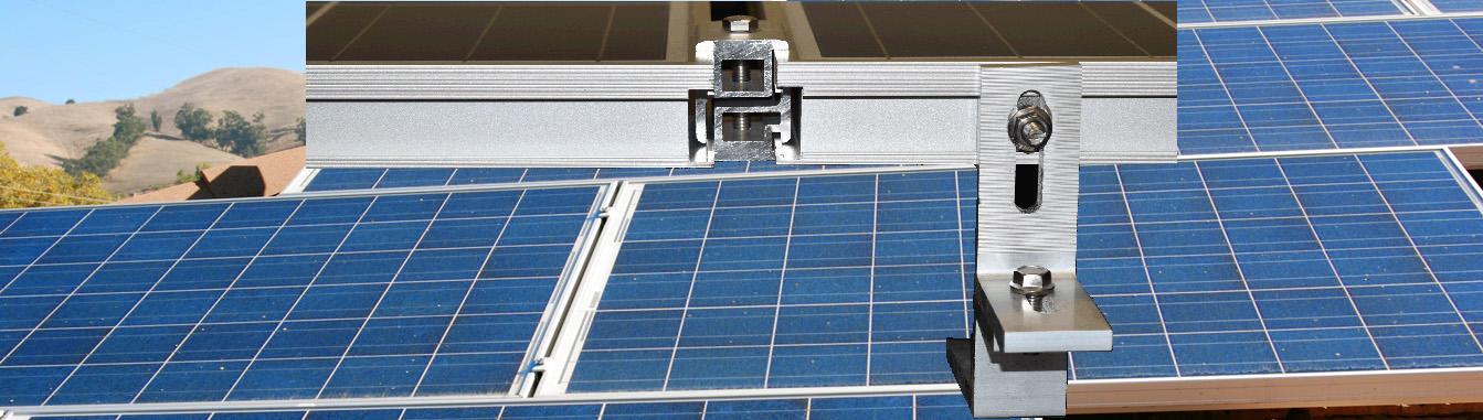 MageMount Rail-less Solar Mounting System Slider 5