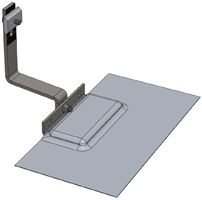 tile hook assembled 200