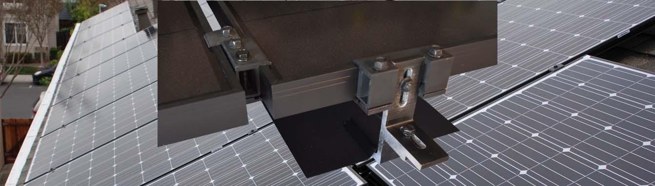 MageMount II Rail-less Solar Mounting System Slider 1