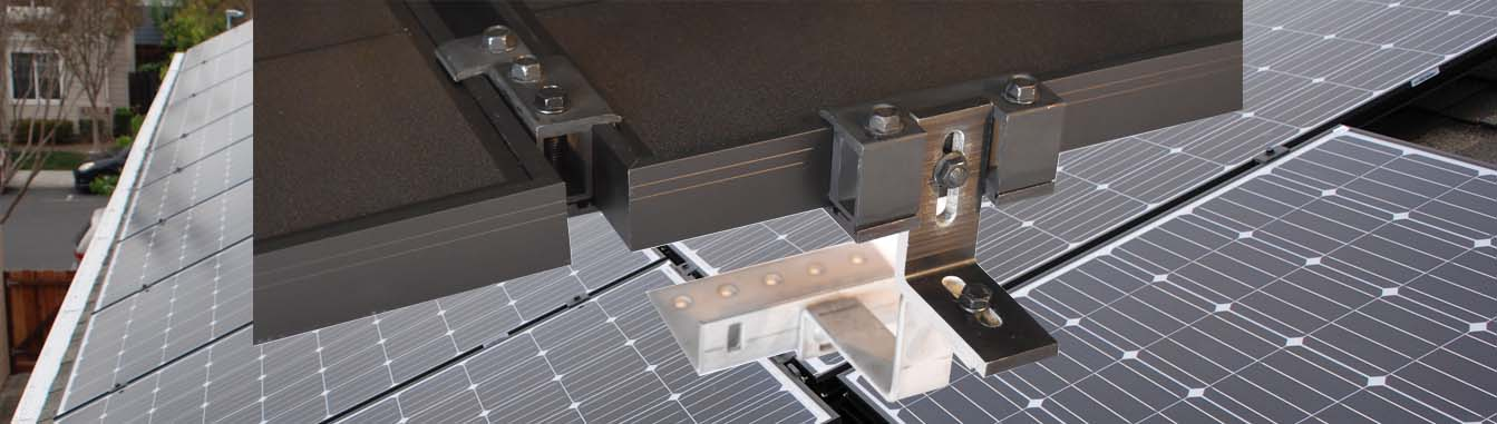 MageMount II Rail-less Solar Mounting System Slider 2