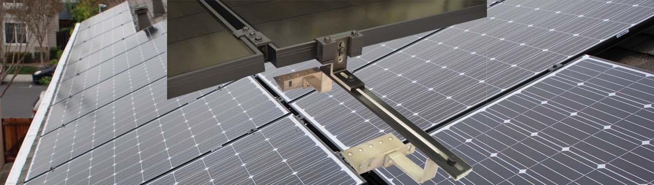 MageMount II Rail-less Solar Mounting System Slider 3