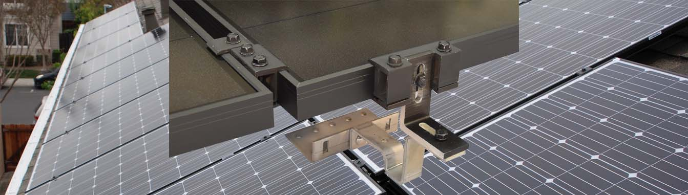 MageMount II Rail-less Solar Mounting System Slider 4