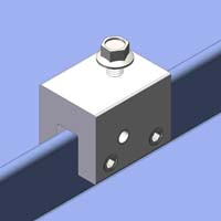Clamp Amp Bracket For Standing Seam R Panel Trapezoidal